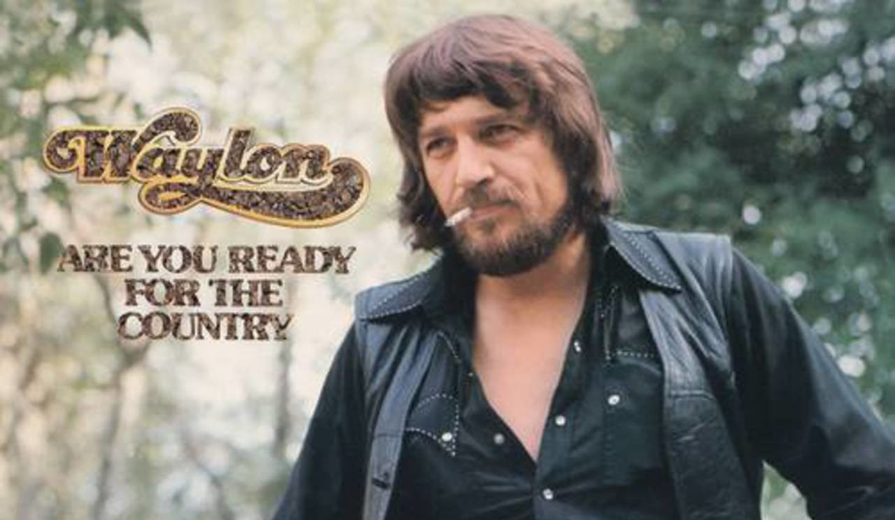 Waylon Jennings Are You Ready for the Country crop