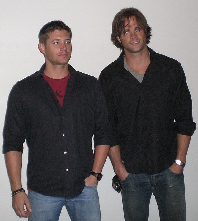 """Supernatural"" stars Jensen Ackles (left) and Jared Padalecki are pictured early in the series' run, 13 seasons and counting as of spring 2018."