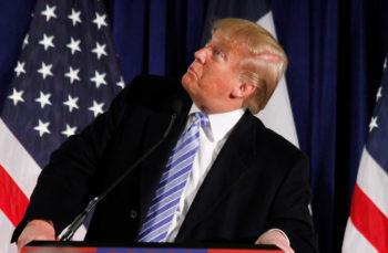 Donald Trump at Iowa State University, January 19. 2016. Photo: Max Goldberg (Wikimedia Commons)