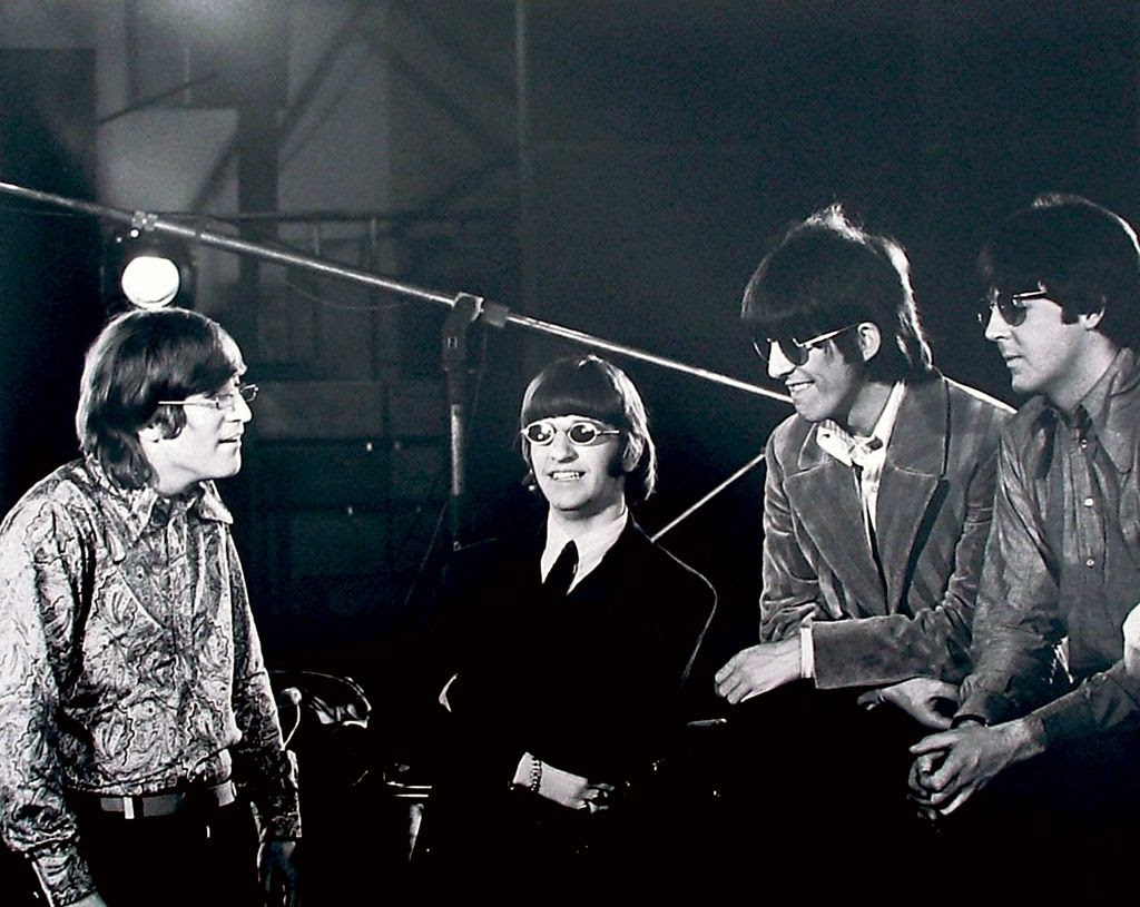 Beatles Revolver back cover photo by Robert Whitaker