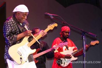 Buddy Guy headlining the Playboy Jazz Festival at the Hollywood Bowl on June 12, 2011. Photo: Stephen K. Peeples.