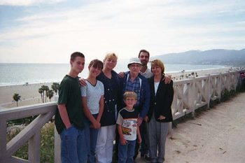 The Peeples Family, Santa Monica Palisades, 2000.