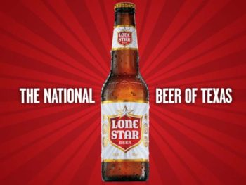 Lone Star Beer the National Beer of Texas