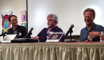 Armadillo Rising panel - Jason Mellard, Eddie Wilson and Joe Nick Patoski