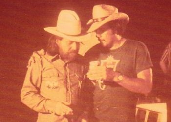 Jerry Retzloff and Willie Nelson