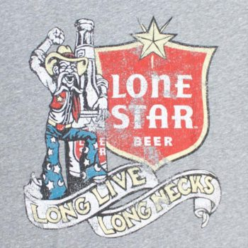 Lone Star Beer redneck rocker