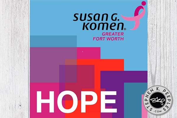 Mothers Day 2017 McGrath Komen Hope CD cover