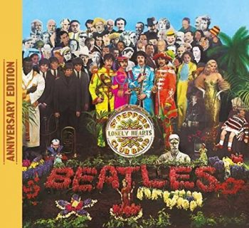 Beatles Sgt. Pepper 50th anniversary cover