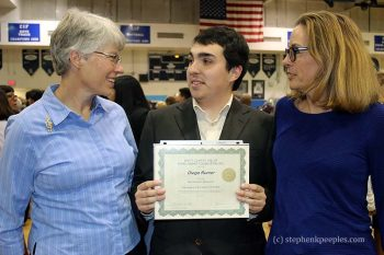 Saugus High Students Win First Two Rod Bennett Scholarships 4