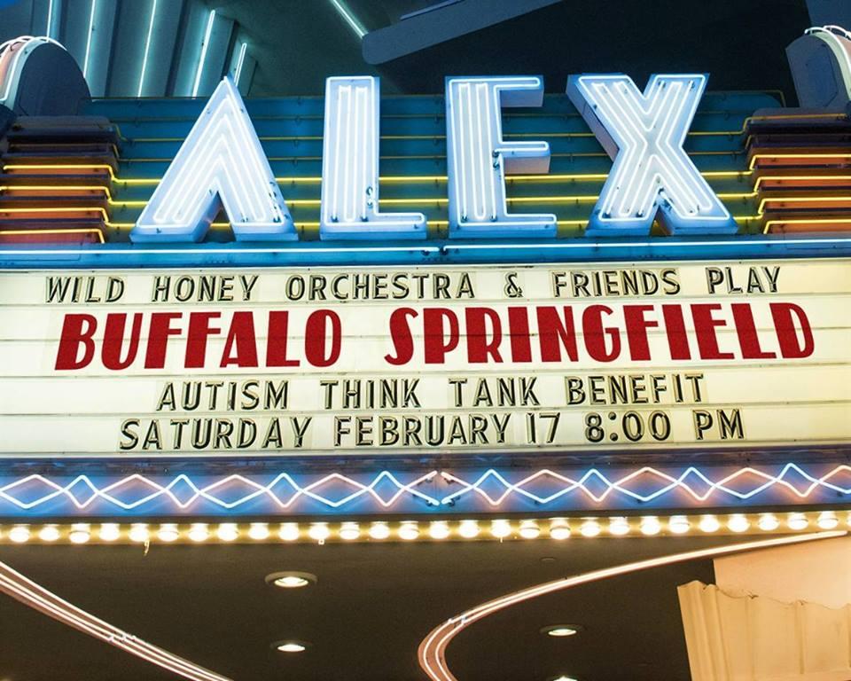 Wild Honey Orchestra plays Buffalo Springfield Alex marquee