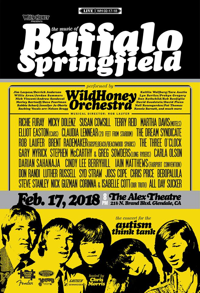 Wild Honey Buffalo Springfield poster 02-08-18