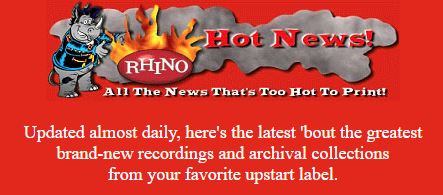Rhino Hot News header, 1997