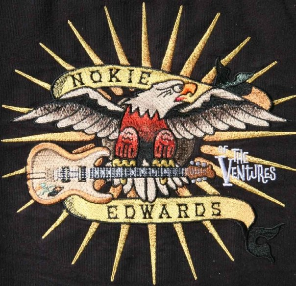 Nokie Edwards' shirt patch. Photo: Stephen K. Peeples.