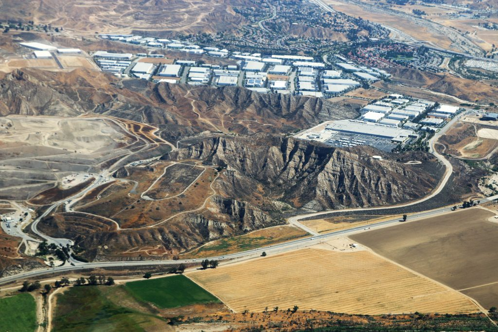 An aerial view of the Newhall Ranch property off Highway 126 in the Santa Clarita Valley on June 14, 2018. Photo: Stephen K. Peeples for Wealth Wisdom Wellness.