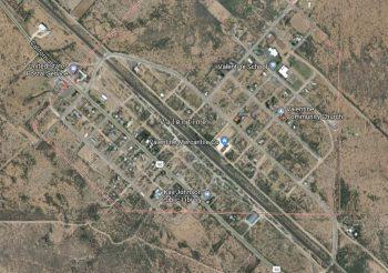 Valentine, Texas, satellite view. Google Maps.