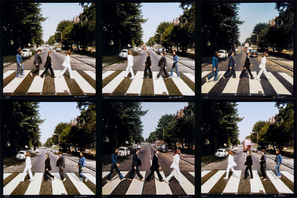 beatles abbey road photo shoot iain macmillan