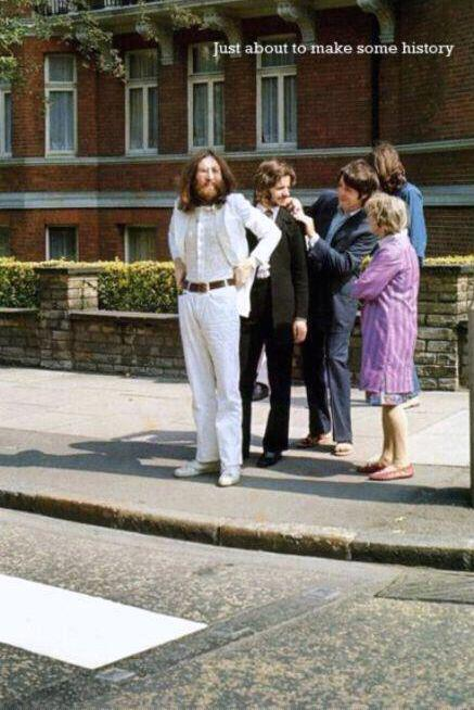 abbey road outtake by linda eastman mccartney