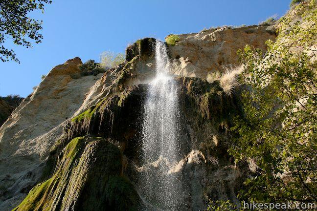 escondido falls - hikespeak.com 1969