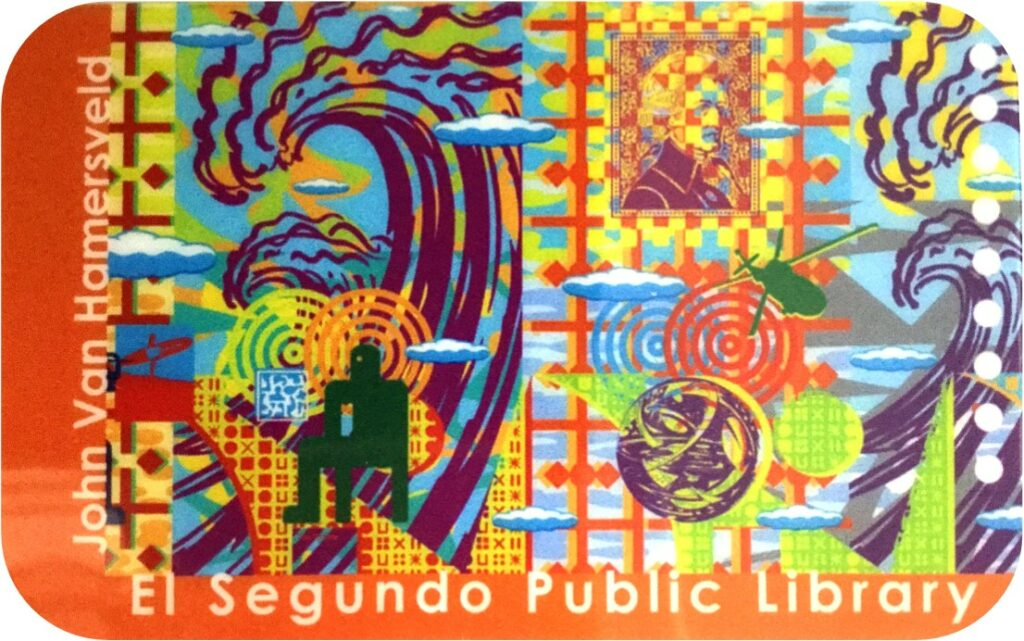 el segundo library card