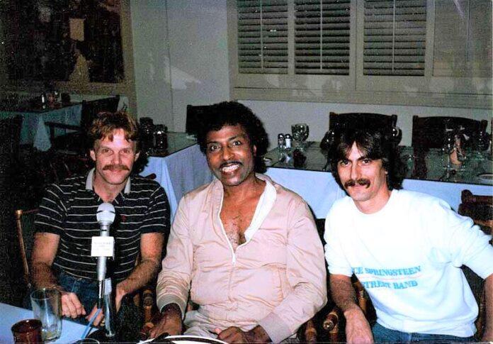 little richard -- Steve Downes, Little Richard, Stephen K. Peeples, Continental Hyatt House, Hollywood, California, Jan. 10, 1986.