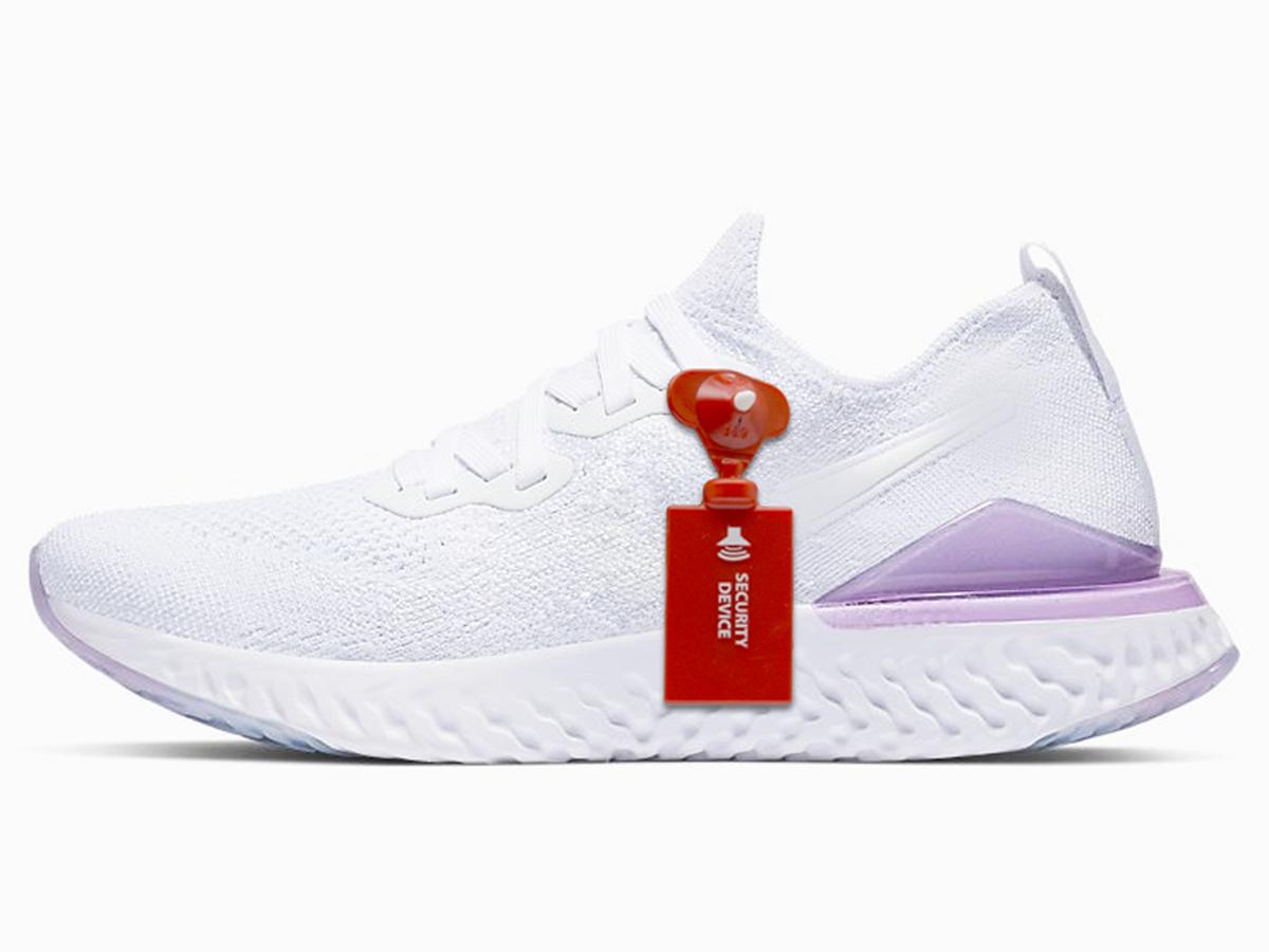 white sneaker-