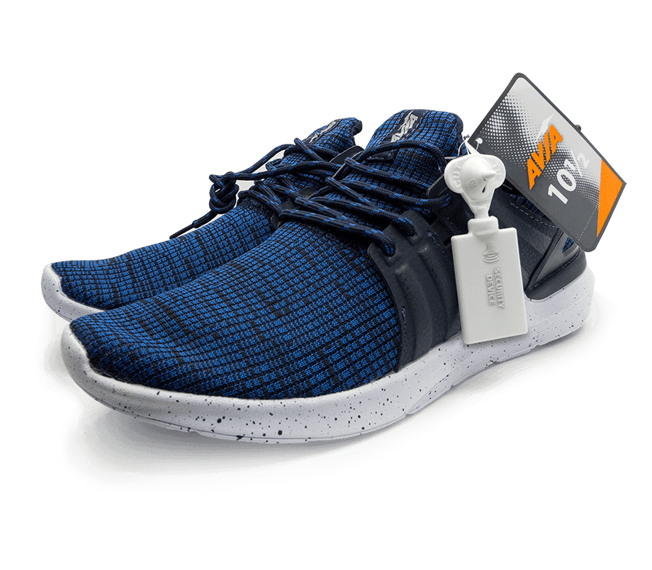 RFID-Blue Sneaker-security device-Small