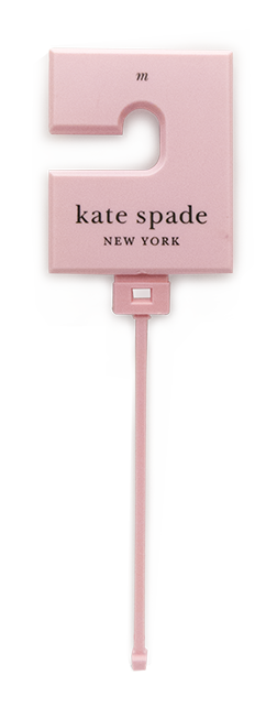 kate pink-belt hanger