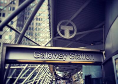 Gateway T Station, Downtown