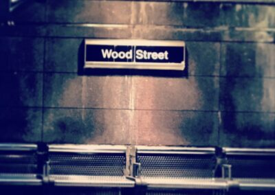 Wood Street train station, Downtown