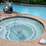 clear blue water pools spa and hot tub cleaning