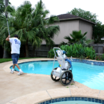 clear blue water pools weekly pool cleaning kingwood atascocita humble