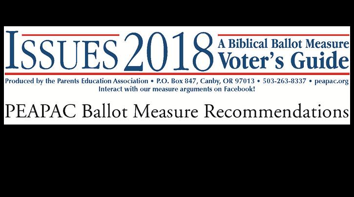 2018 Biblical Ballot Measures Voters Guide