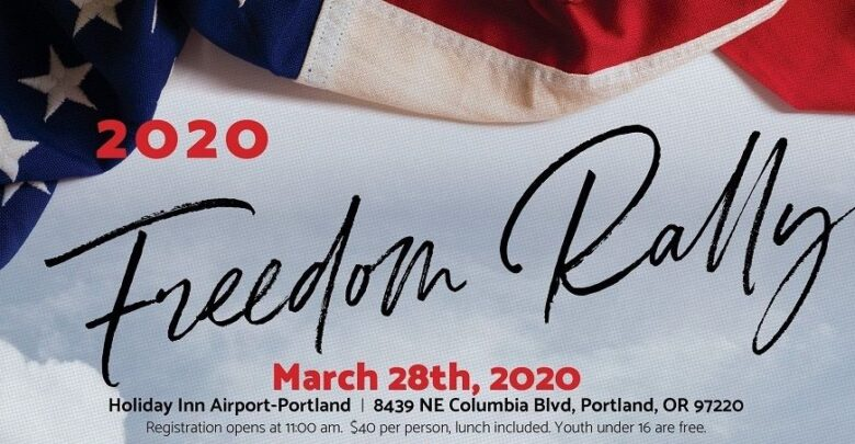 Freedom-Rally Banner