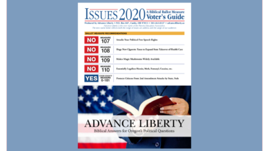 Advance Liberty Voter's Guide 2020 Cover image