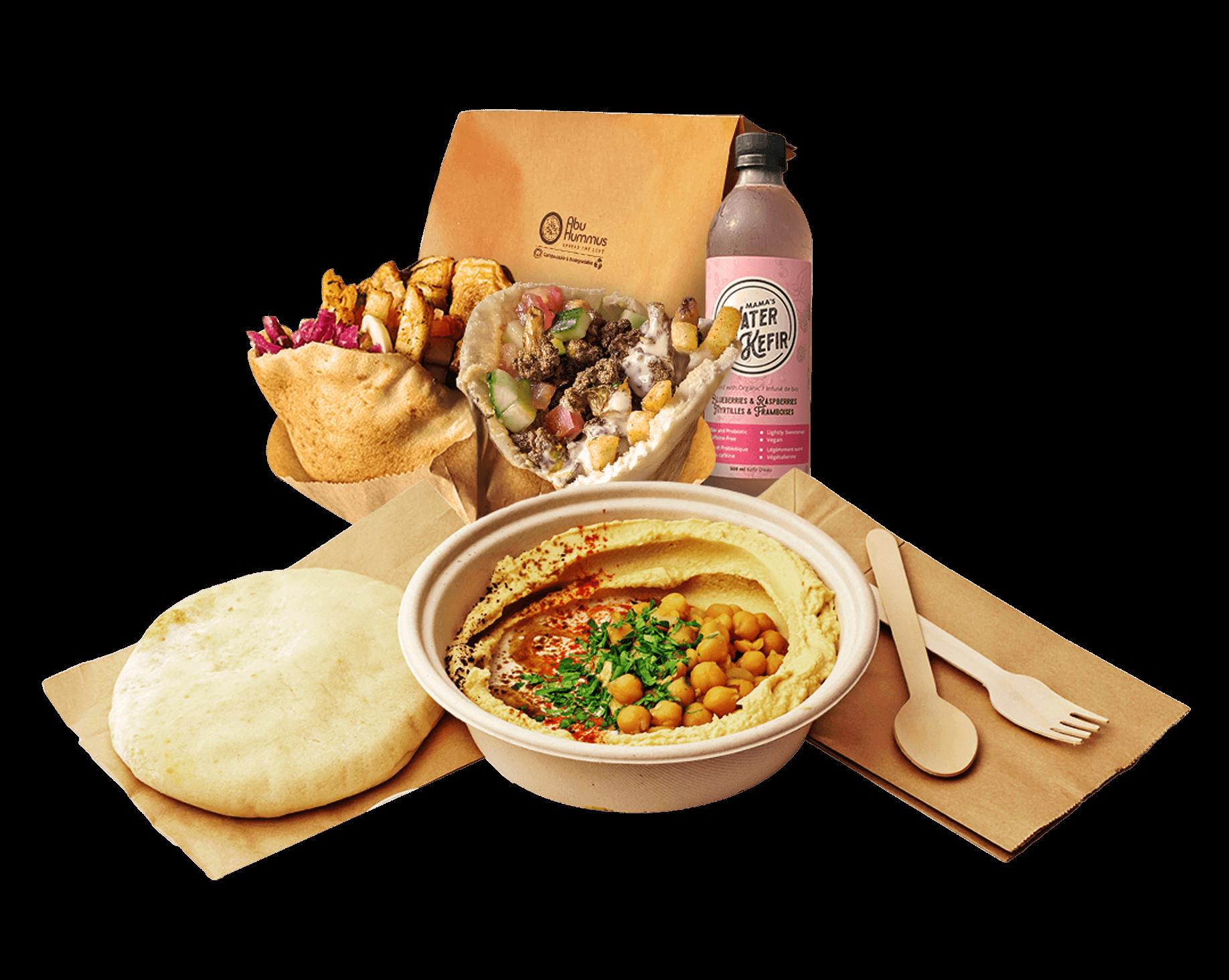Abu Hummus Meal