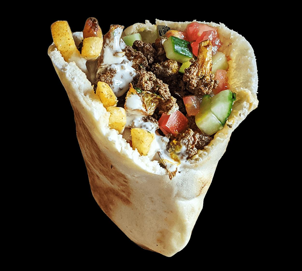 Vegan Shawarma In Pita