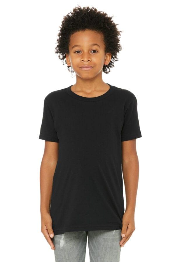Kid in black t shirt