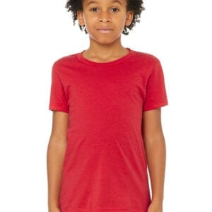 Kid in red T shirt