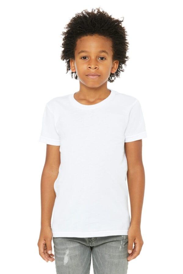 Kid in white t shirt