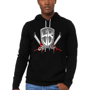 Special Breed logo on black hoodie