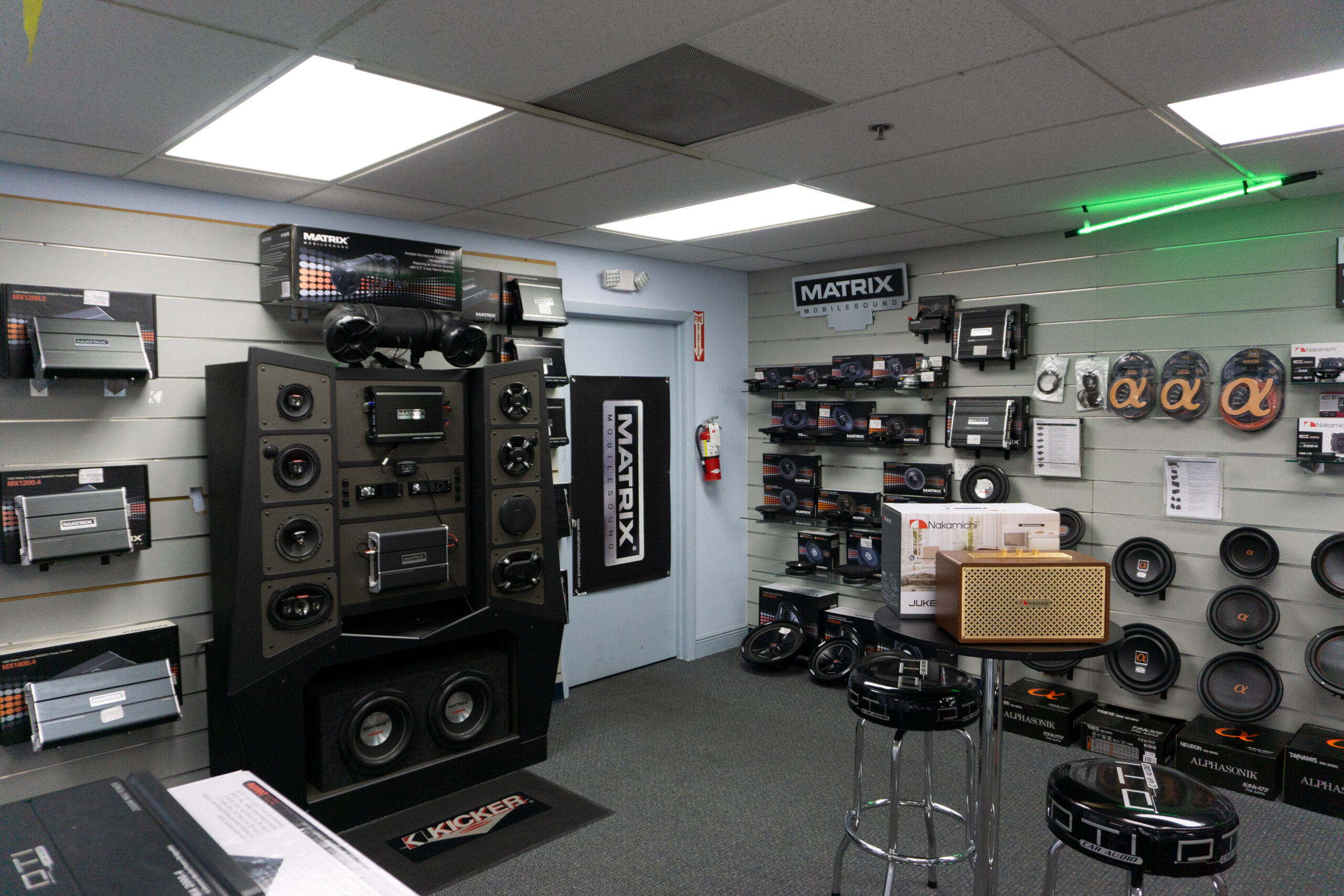 diplomat trading miami showroom pro and mobile audio