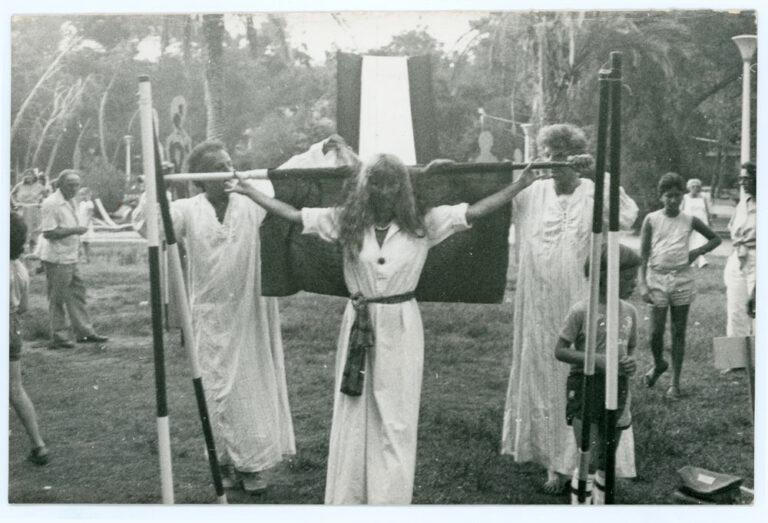 עולם-פתוח,-מיצג-עדי-אהרונוב-ואיתמר-סיאני,-גד-אולמן-1983