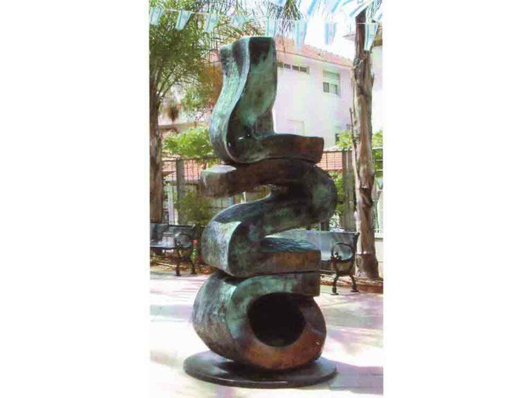פסל-ברונזה-עד-120-גד-אולמן