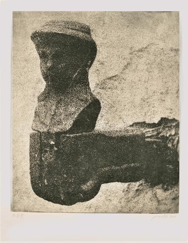 מנשל'ה, 1974, תצריב צילומי 70 על 50 ס''מ, [הוצג בלשכת ראש העיר תל אביב]