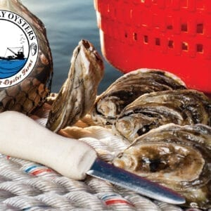 Stormy Bay Oysters Rack Card Image