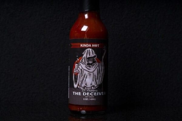 """Ledwon's """"St. Francis The Deceiver"""" Hot Sauce"""