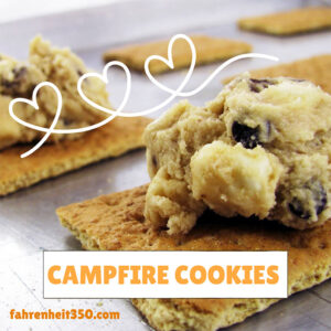 Match Made in Heaven: Cookies with Marshmallows [The Original S'mores Cookie]