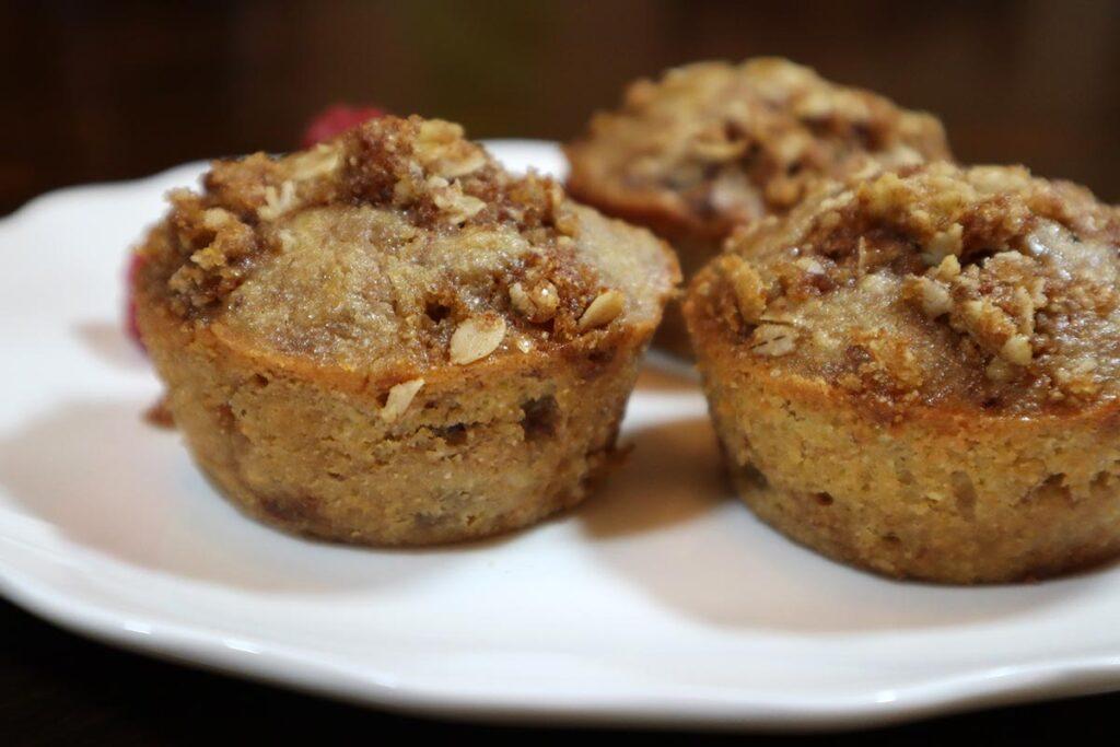 Best Banana Oatmeal Chocolate Chip Muffins
