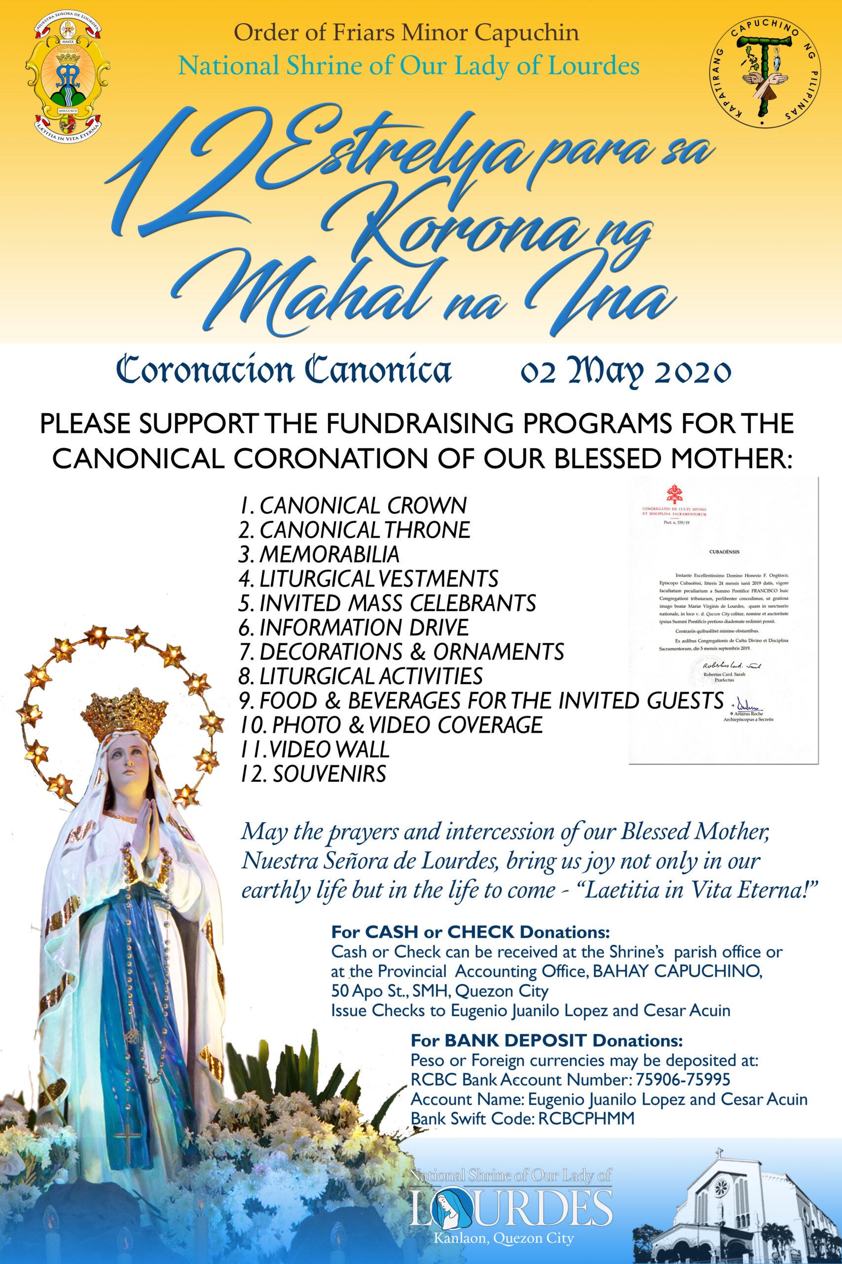 Canonical Coronation 2020