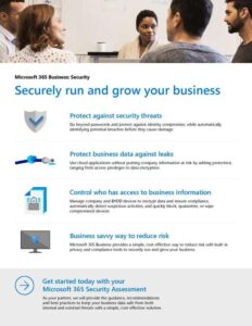 Securely run and grow your business